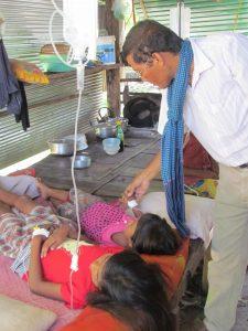 Wir kümmern uns um die beiden schwer kranken Mädchen