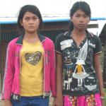 Chanra und Srealeah 2012 (noch depressiv, aber schon sicher)