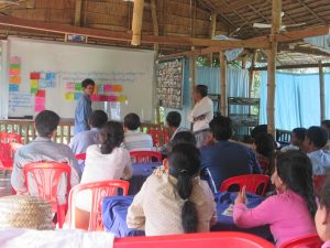 1. Farmer organizing and training